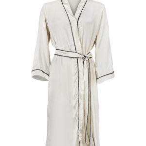 Faces - Silk Dressing gown