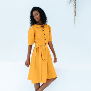 Slip on our Nova Dress with a relaxed silhouette and picture yourself whisked away to an imaginary world of endless summer holidays.